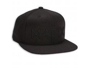 Matix kšiltovka MONOSET TONAL snapback black