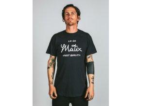 Matix tričko First Quality T-Shirt black