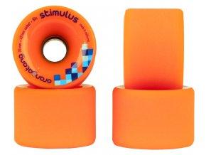 Orangatang kolečka Stimulus 70mm/80a wheels 4ks