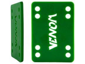 "Venom podložky na longboard Riser Pads Green 1/8"" 3mm 2ks"