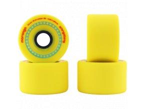 Orangatang kolečka Moronga 72,5 mm 86a wheels 4ks