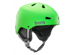 helma bern team macon matte neon green