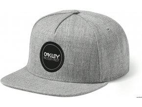 Oakley kšiltovka Factory Pilot Novelty Snapback Heather Gray