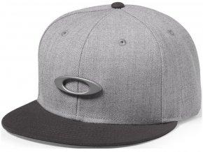 Oakley kšiltovka O-Justable Metal Cap grigio scuro