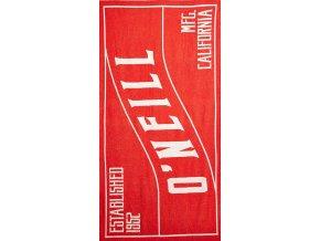 O'NEILL plážová osuška Beach Towel aurora red