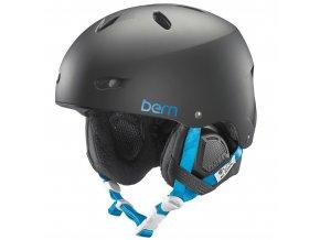 Bern dámská zimní helma Brighton matte black 15/16