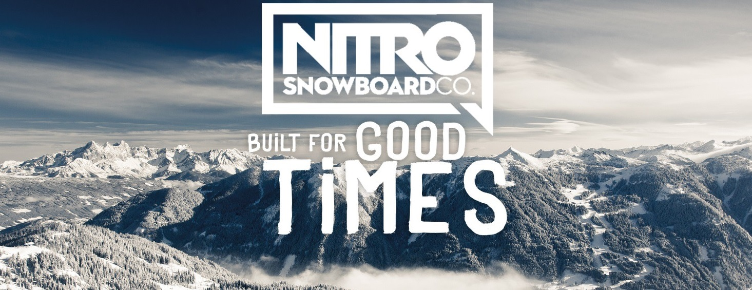 nitro banner snowboards good times